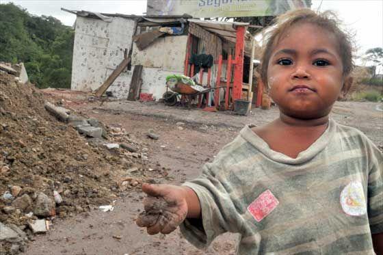 Indigencia en Colombia