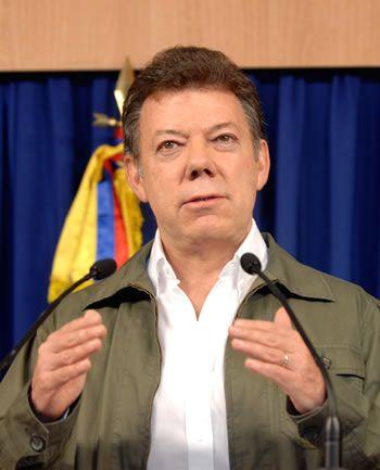 Juan Manuel Santos y Ecuador