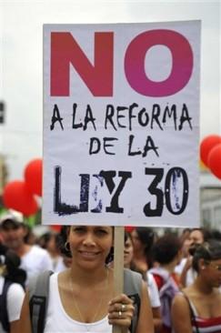 Reforma a la ley 30