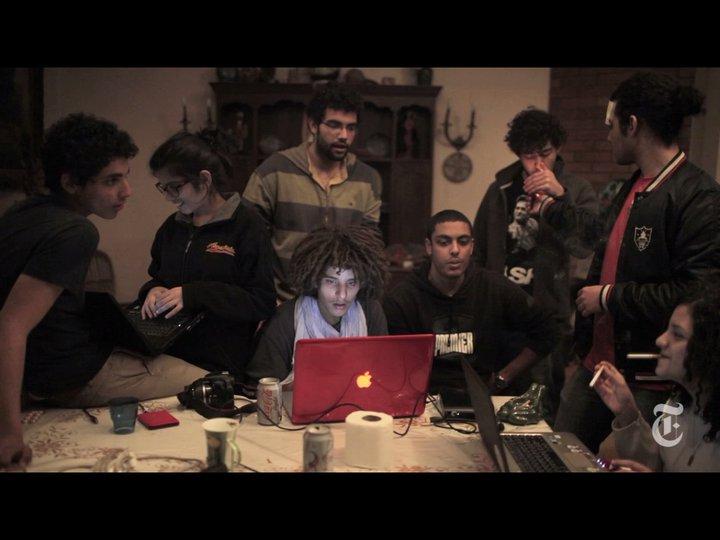 Redes sociales en Egipto
