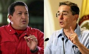 chavez y uribe